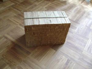 """Паркет индустриальный сорта """"Рустик"""" упаковка 0,512м2 и пол"""