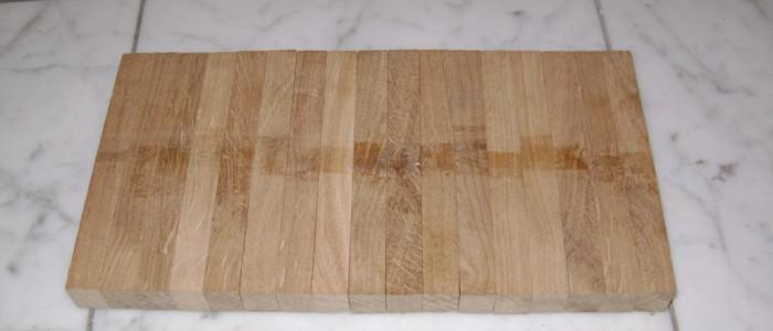 18x23x160 mm oak