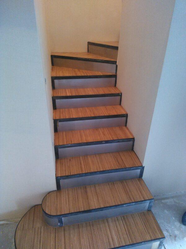 индустриальный паркет 16х8х300 дуб Селект облицовка лестниц
