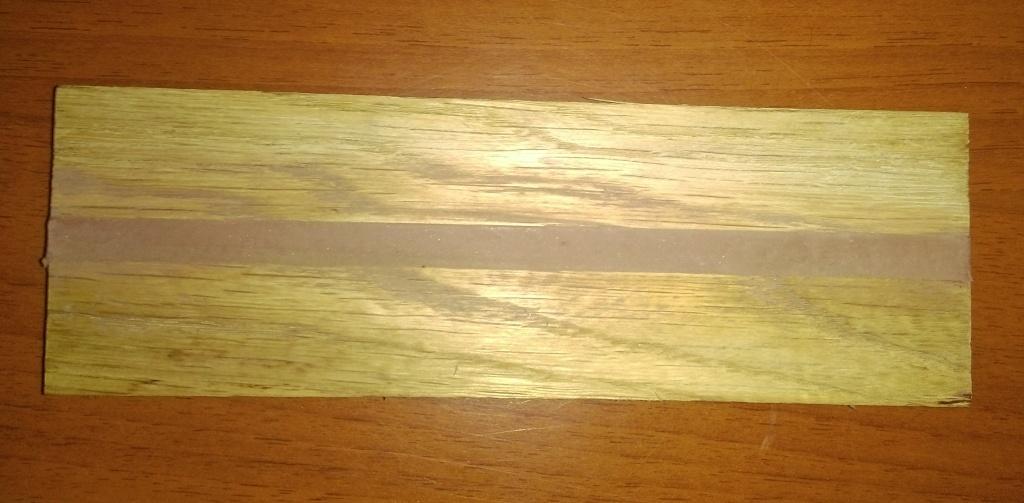 Загерметизированный МС полимерным герметиком шов через сутки